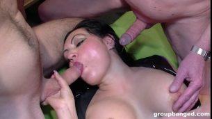 GroupBanged – Elina – Groped And Gang Fucked